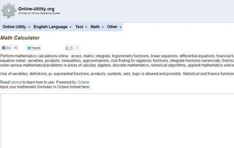 Math Calculator, otra calculadora online para resolver todo tipo de operaciones matemáticas | E-Learning, M-Learning | Scoop.it