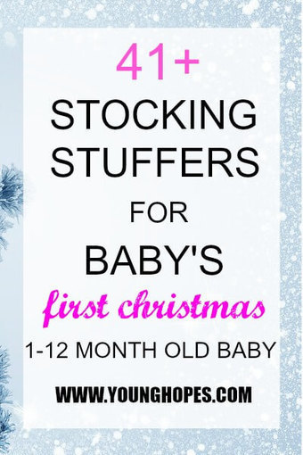 41+ Stocking Stuffer Ideas for Baby's First Christmas (1-12 Month Old Baby) • | All Occasion Gifts | Scoop.it