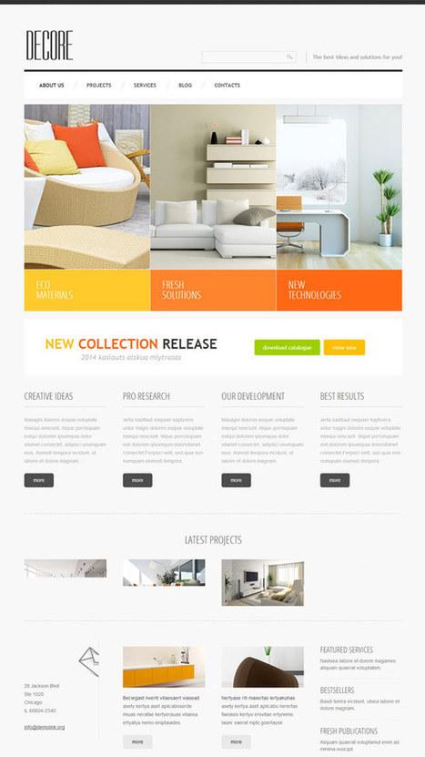 Home Decor Responsive Joomla Template 47348   Joomla! Templates   Home Decor   Scoop.it