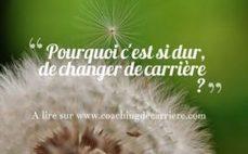 Pourquoi c'est si dur de changer de carrière?   Coaching de Carrière : Bérangère Touchemann   Accompagner la démarche portfolio   Scoop.it