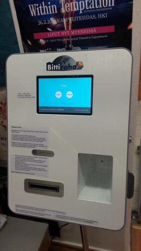 Helsinki Unveils Europe's First Bitcoin ATM | Zero Hedge | Finland | Scoop.it