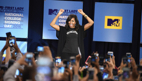 Michelle Obama In Harlem To Promote Higher Education During College Signing Day | LibertyE Global Renaissance | Scoop.it