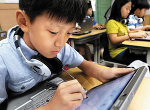 South Korea Says Good-Bye To Print Textbooks, Plans To Digitize Entire Curriculum By 2015 (video) | Singularity Hub | Tech in Education | Scoop.it