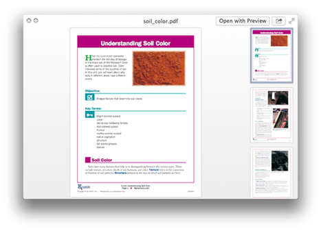 How to copy text when previewing a document using Quick Look in OS X | Mac & iPhone | Scoop.it