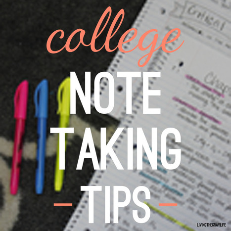 College Note Taking Tips | Graphic Facilitation and Sketchnoting | Scoop.it