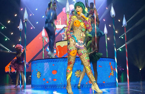 Katy Perry Prismatic World Tour | Freewall paper | Scoop.it