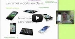 Gérer les mobiles en classe - atelier video | E-apprentissage | Scoop.it