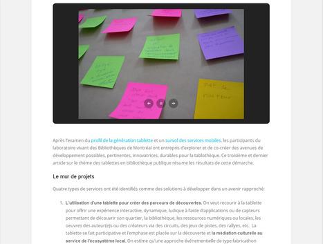 Scénarios d'usages pour les tablettes en bibliothèque publique (+ une liste de ressources) | LibraryLinks LiensBiblio | Scoop.it