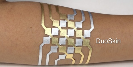 MIT created a temporary tattoo that can control your connected devices | Patient Hub | Scoop.it
