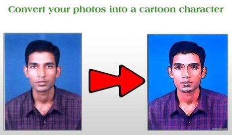 Maak een cartoon van jezelf, of een ander...   Yo   Scoop.it
