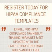 Infographic: register today for HIPAA Compliance TEmplates | Infogram | Online HIPAA Certification, HIPAA Privacy, Security & Compliance Training | Scoop.it