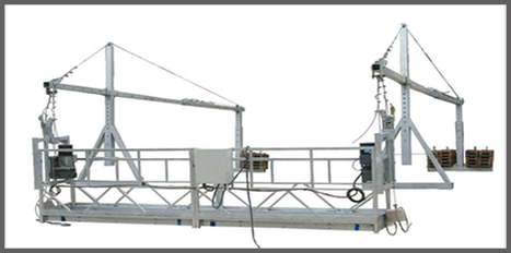 Suspended Platform or Working Rope Platform | Stirrup Bender Machine | Scoop.it