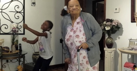 97-year-old great-grandma adorably dances with 8-year-old - Video | Prozac Moments | Scoop.it