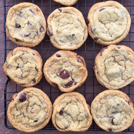 The Best Vegan Chocolate Chip Cookies | My Vegan recipes | Scoop.it