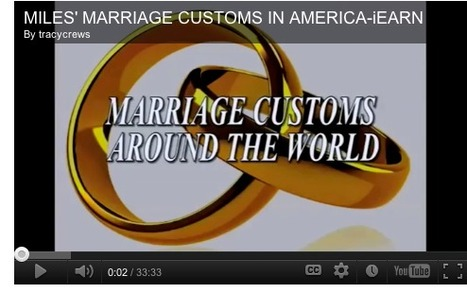 Marriage Customs in the U.S. | iEARN in Action | Scoop.it