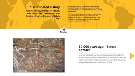 Our shared history - Time Line   Primary history- First Contacts   Scoop.it