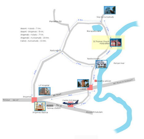 Kerala Christian Pilgrimage Locations: Malayattoor Kurisumudy and Church   See My Blogs   Scoop.it