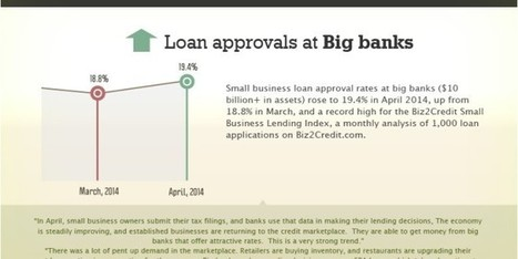 Small Business Loans Hit 19.4 Percent, a Record High at Big Banks | Tammie Nemecek Favorites | Scoop.it