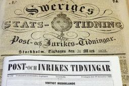 Los 10 periódicos más antiguos que aún se publican - eju.tv   Documentos antiguos   Scoop.it