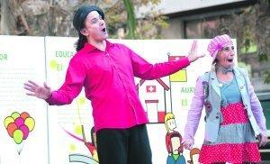Los payasos suben el telón por los derechos de los niños - La Verdad (Murcia)   Cultura libre y propiedad intelectual   Scoop.it