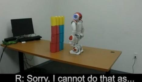 Ya estamos enseñando a los robots a desobedecer órdenes de humanos   Innovación   Scoop.it