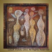 Fine Art for Sale by Artist Luiza Vizoli - Abstract Art Gallery - ARTbyLuizaVizoli   Original-Painting   Scoop.it