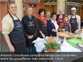 Barbastro hace corto de crespillos tras repartir doce mil | Fiestas en Aragón | Scoop.it