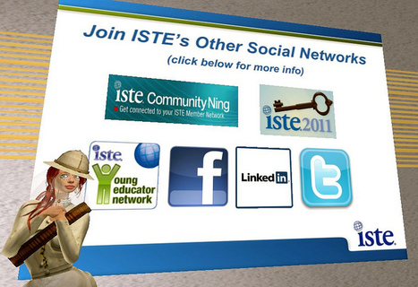 #ISTE Social Media & Web Resources | The Daring Librarian #edtech20 #iste11 | #iste ; #iste11 ; useful links for teachers | Scoop.it