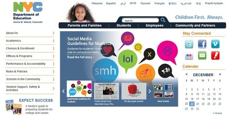 Lisa Nielsen: The Innovative Educator: NYC blazes trails to prepare students for success with new social media guidelines | eLearn Today | Scoop.it