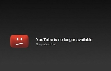 Le jour où YouTube fermera- Ecrans | Web 2.0 et société | Scoop.it