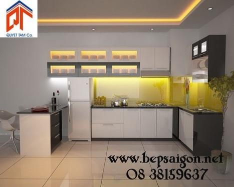 bepsaigon.net - Tủ bếp nhà chị THỤC - Đồng Nai TB09 - | Tủ bếp Acrylic - MFC | Scoop.it