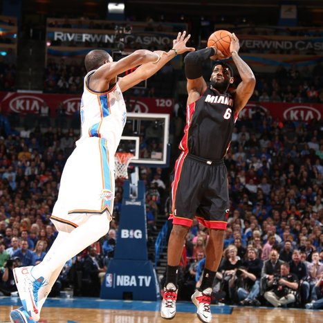 Why It's Better for the NBA If LeBron James Wins MVP - Bleacher Report   NBA Insider   Scoop.it