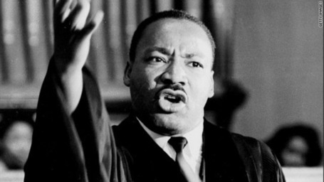 What did Martin Luther King think about gay people?
