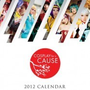 """Calendrier """"Cosplay for a cause"""" 