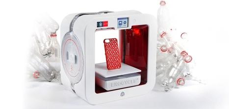The Ekocycle Cube : l'imprimante 3D de Coca-Cola qui recycle les bouteilles en objets design | Les éco-activités dans le monde | Scoop.it