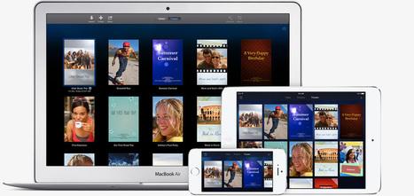 Apple - iMovie pour Mac   Sitographie projet archibald   Scoop.it