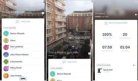 Twitter ya tiene aplicación para compartir vídeo en directo: Periscope - Gizmodo en Español   Recursos para twitter   Scoop.it