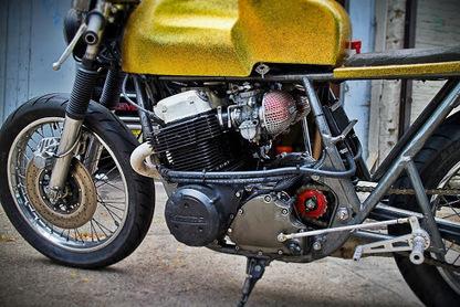 Luke's CB750 Fourflakes   Smotra-moto.ru   Scoop.it