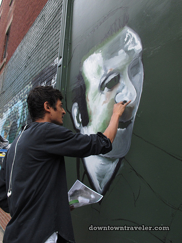 The making of a street art mural: Interview with Montreal artist Reuben Peter-Finley (photos) | the mural archive project | Scoop.it