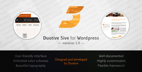 Themeforest - Duotive 5ive v.1.0 for WordPress - Nulled Net | 2014 List of Cool WordPress Themes and Plugins | Scoop.it