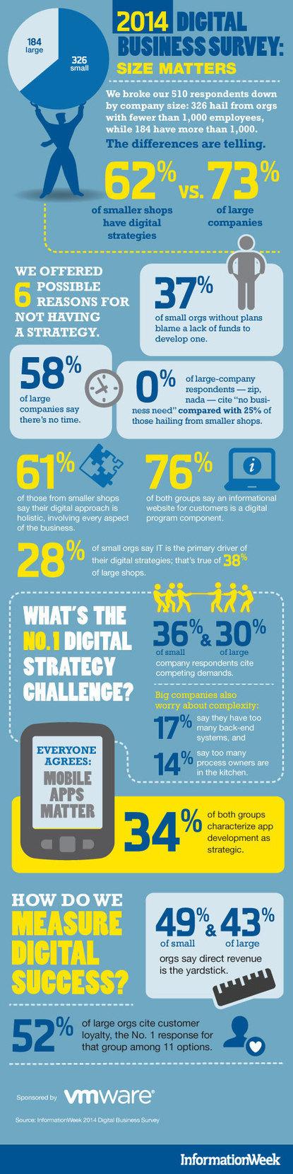 INFOGRAPHIC: 2014 Digital Business Survey | Cloud Central | Scoop.it