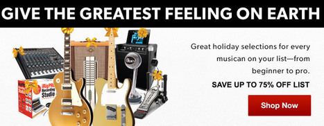 Guitar Center: Music Instruments, Accessories, and Equipment Store | Musica y Libros | Scoop.it