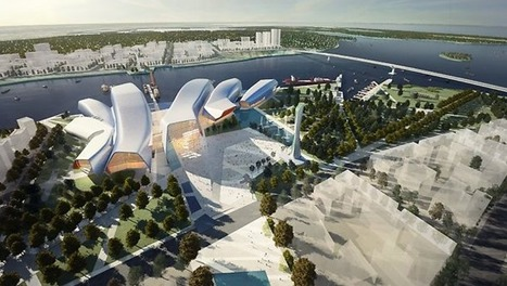 [Beijing, China] Cox Rayner Architects design National Maritime Museum of China: international competition win | The Architecture of the City | Scoop.it