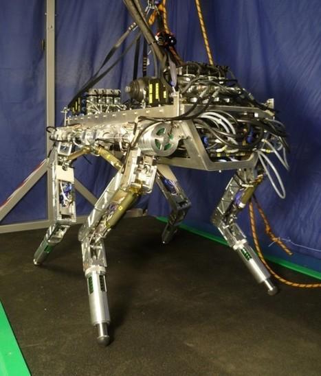 HyQ : Premiers tests en extérieur pour le robot quadrupède Italien | Semageek | Les robots de service | Scoop.it