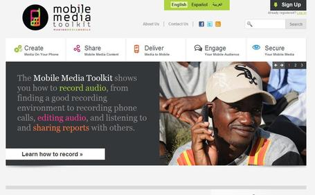 Mobile Media Toolkit | Social media kitbag | Scoop.it