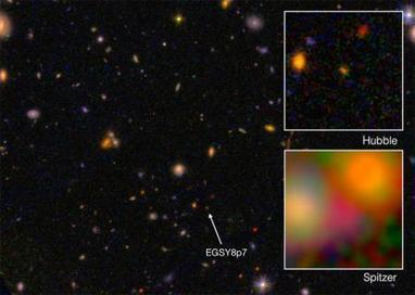 Researchers find 13.2 billion year-old galaxy in our 13.8 billion year old universe | Amazing Science | Scoop.it