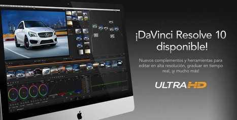 Ya disponible la versión definitiva de DaVinci Resolve 10 | Colorista | Scoop.it