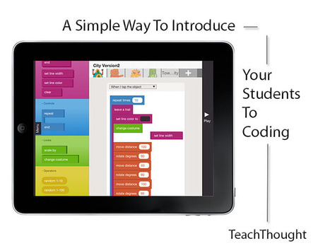 A Simple Way To Introduce Your Students To Coding | Ed Tech 4 Instructors | Scoop.it