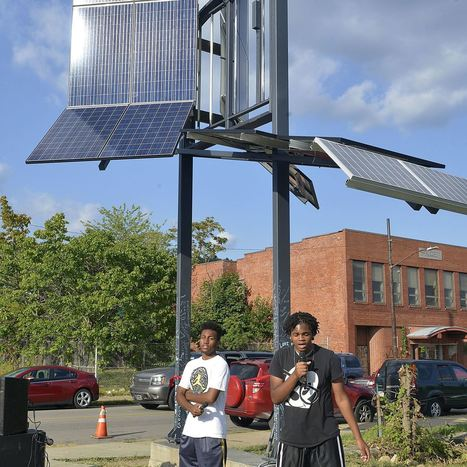 Homewood youth tap solar energy as 'gateway' to betterment   Using Technology to Transform Learning   Scoop.it