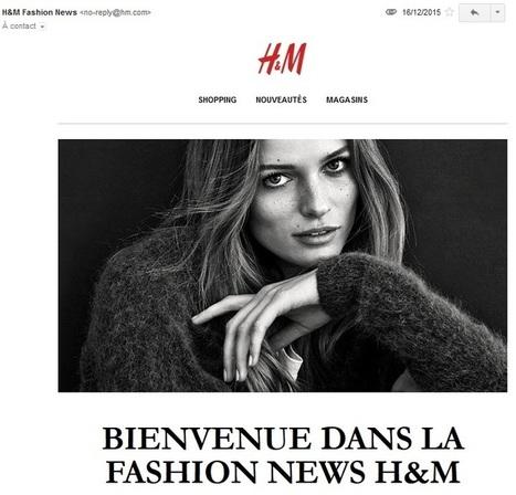 Les erreurs d'email marketing de H & M (et nos conseils) - Message Business | Email Marketing | Scoop.it
